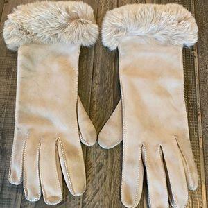 Loro Piana Soft Grey Gloves